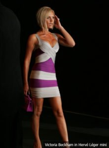 0a499e37c0 If you have ever wanted to look stunning in a deep V mini dress like  Victoria Beckham with an amazing cleavage